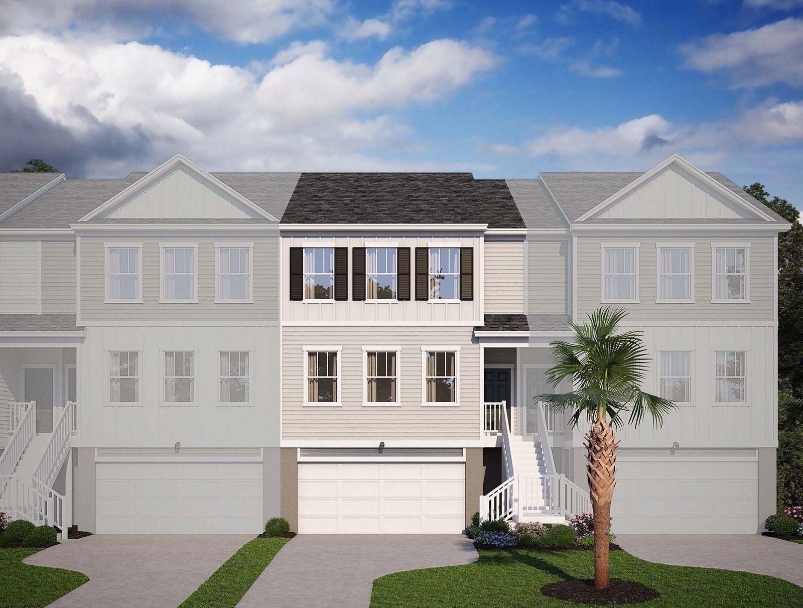 Exterior:305 Lanyard Street, Homesite 22C Elevation Image 1