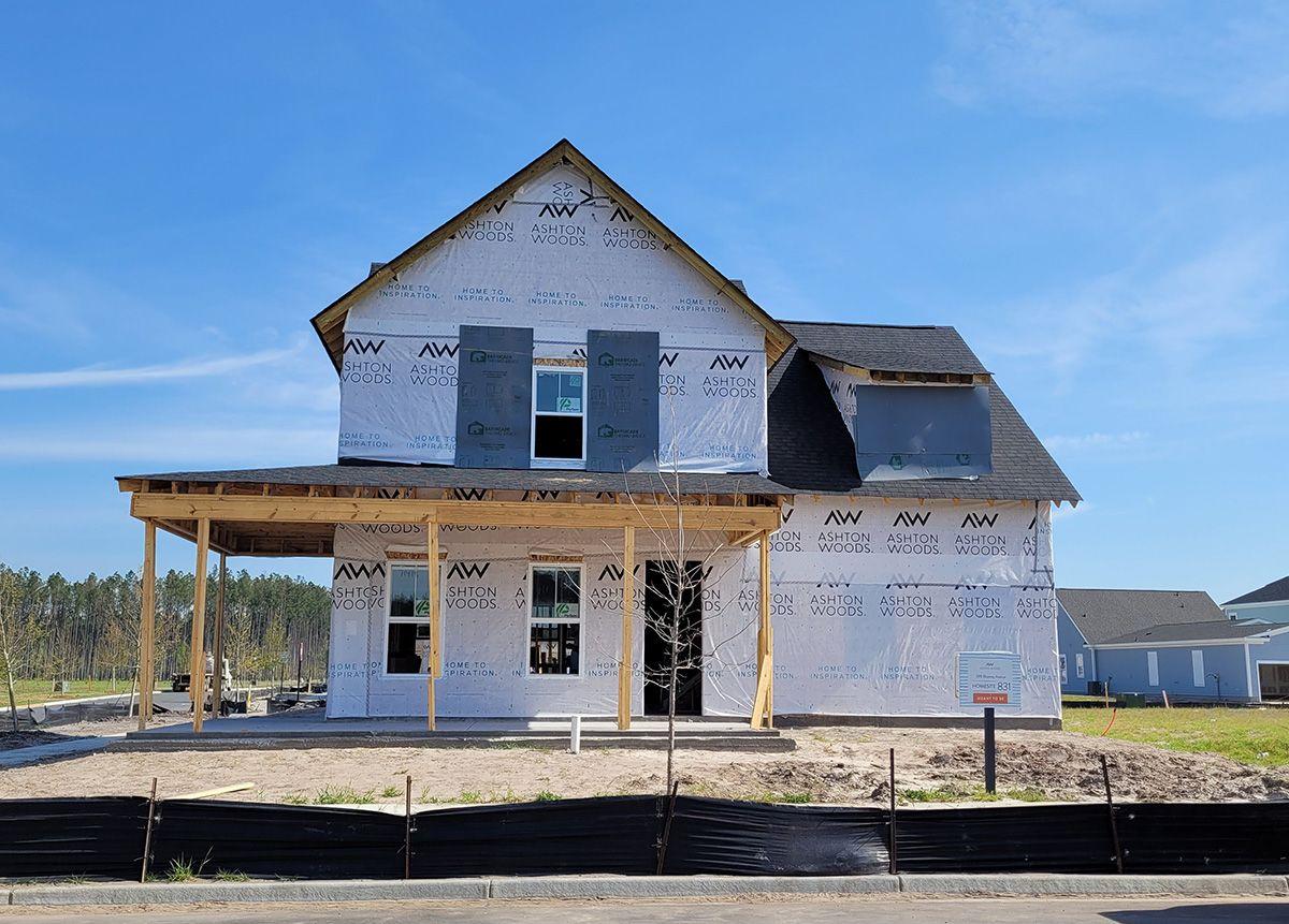 Exterior:598 Blueway Avenue, Homesite 831 Elevation Image 1
