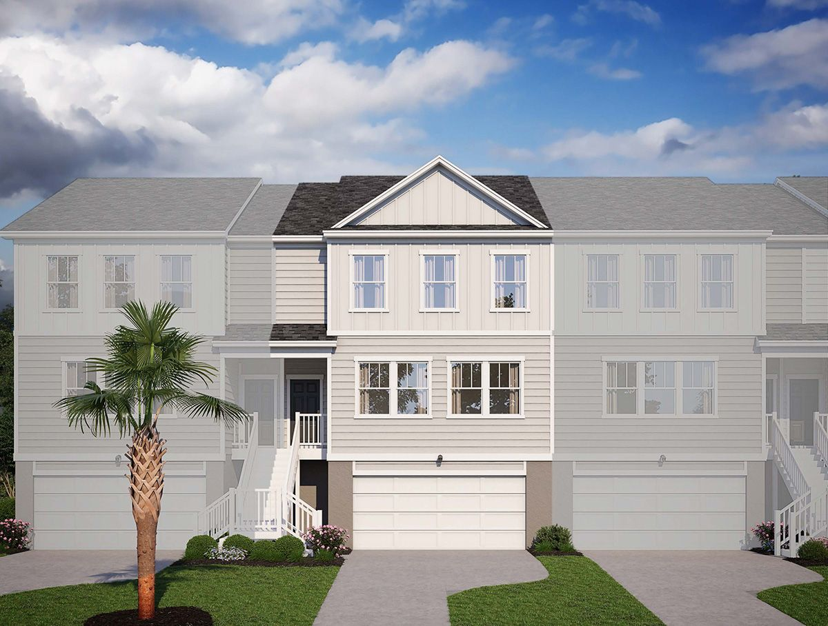 Exterior:135 Winding River Drive, Homesite 6C Elevation Image 1