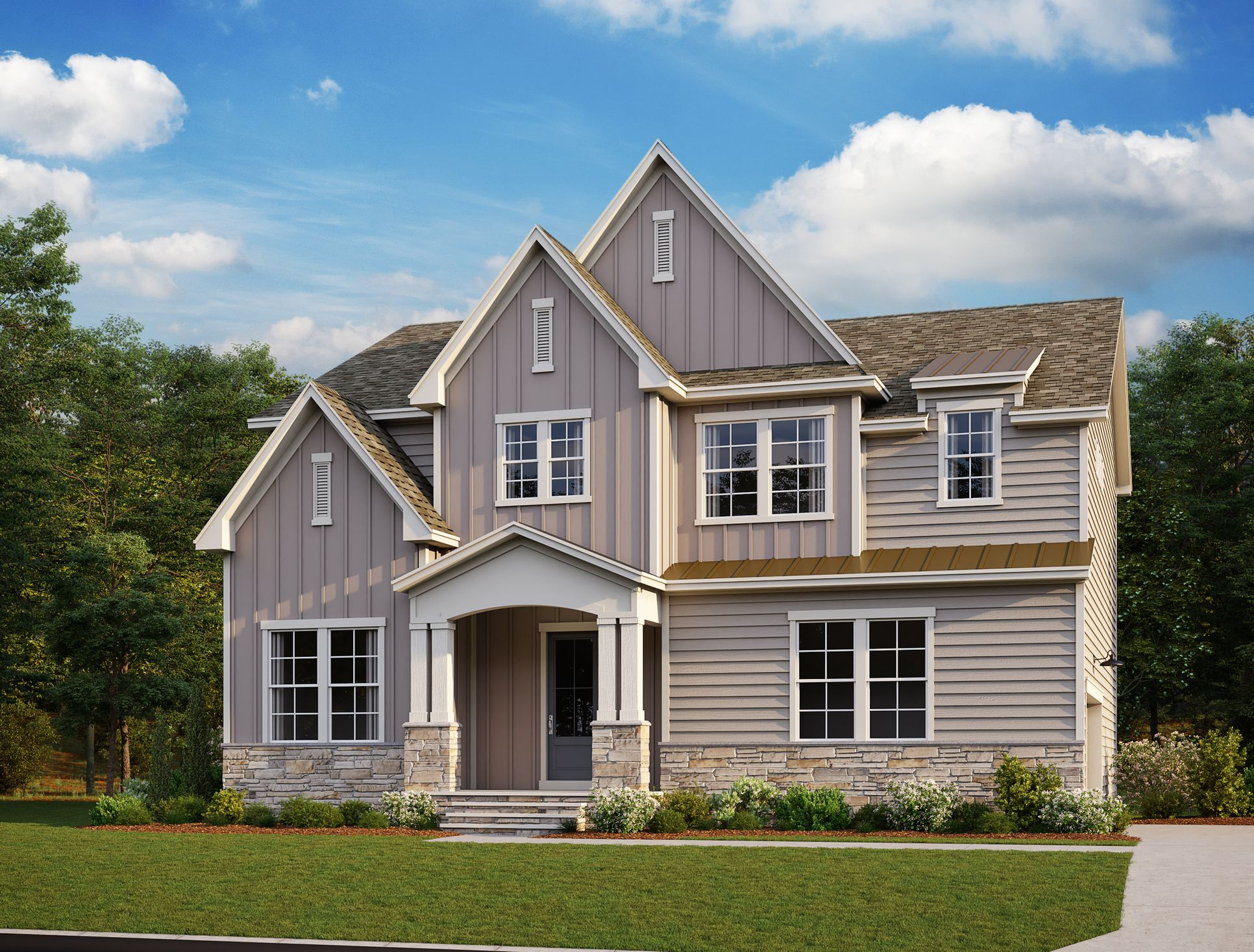 Exterior:Parks at Meadowview - Olivia II Elevation Image 1
