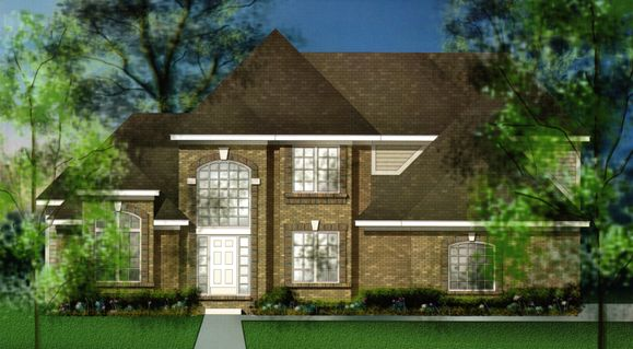 Woodhaven IV Elev D:Woodhaven IV Elevation D