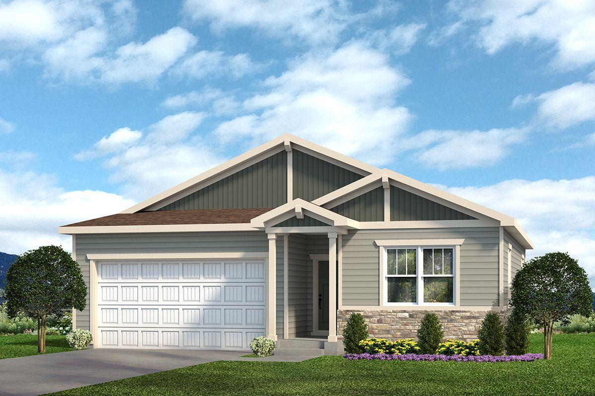 Hayden 601B - Craftsman Elevation - Example