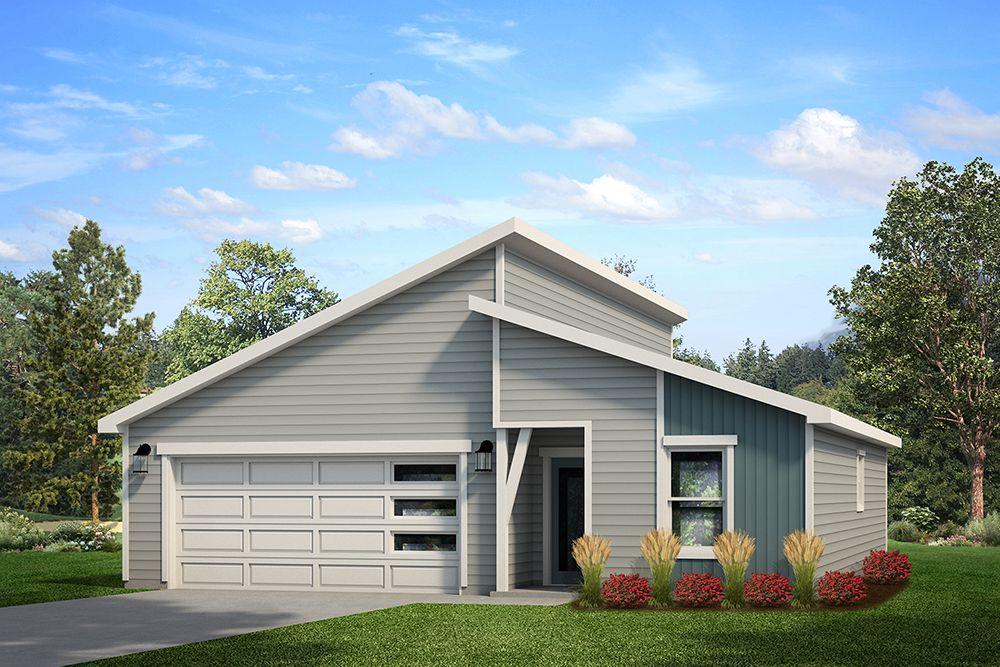 Springfield 500C - Contemporary Elevation - Example