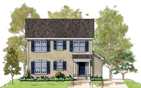 Kendel:Elevation 1 Colonial