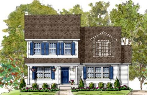 Stevens:Elevation 1 Colonial