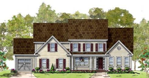 Emerson:Colonial Elevation