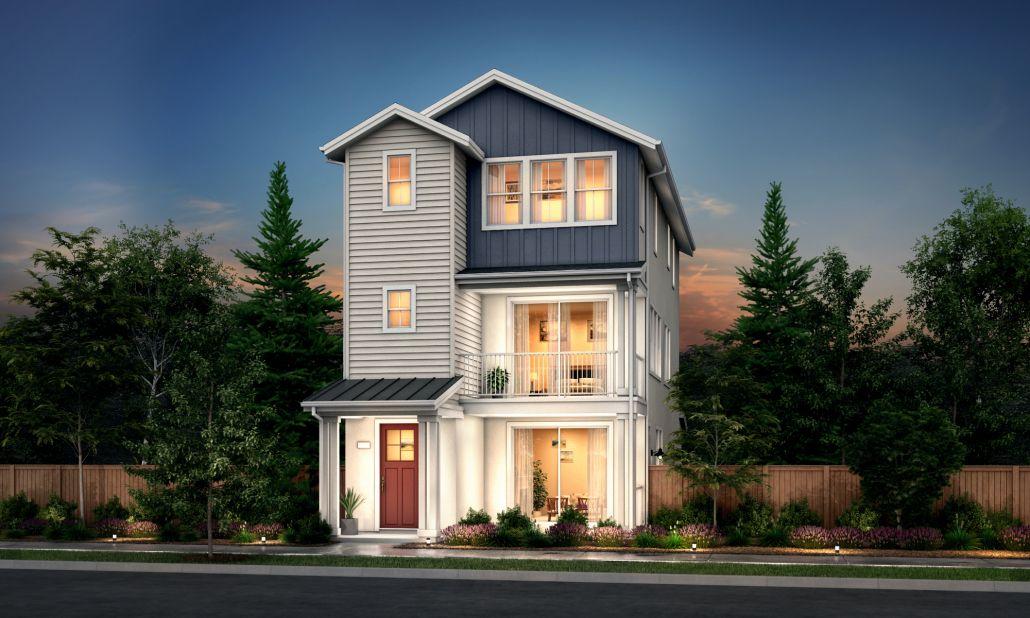 Residence 3:Farmhouse Elevation