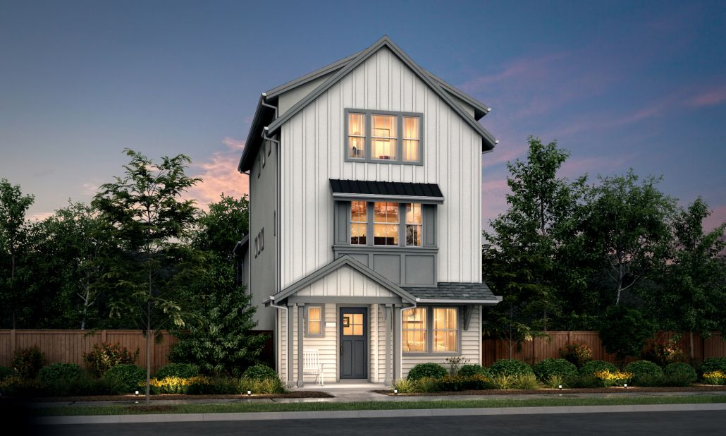 Residence 4:Farmhouse Elevation