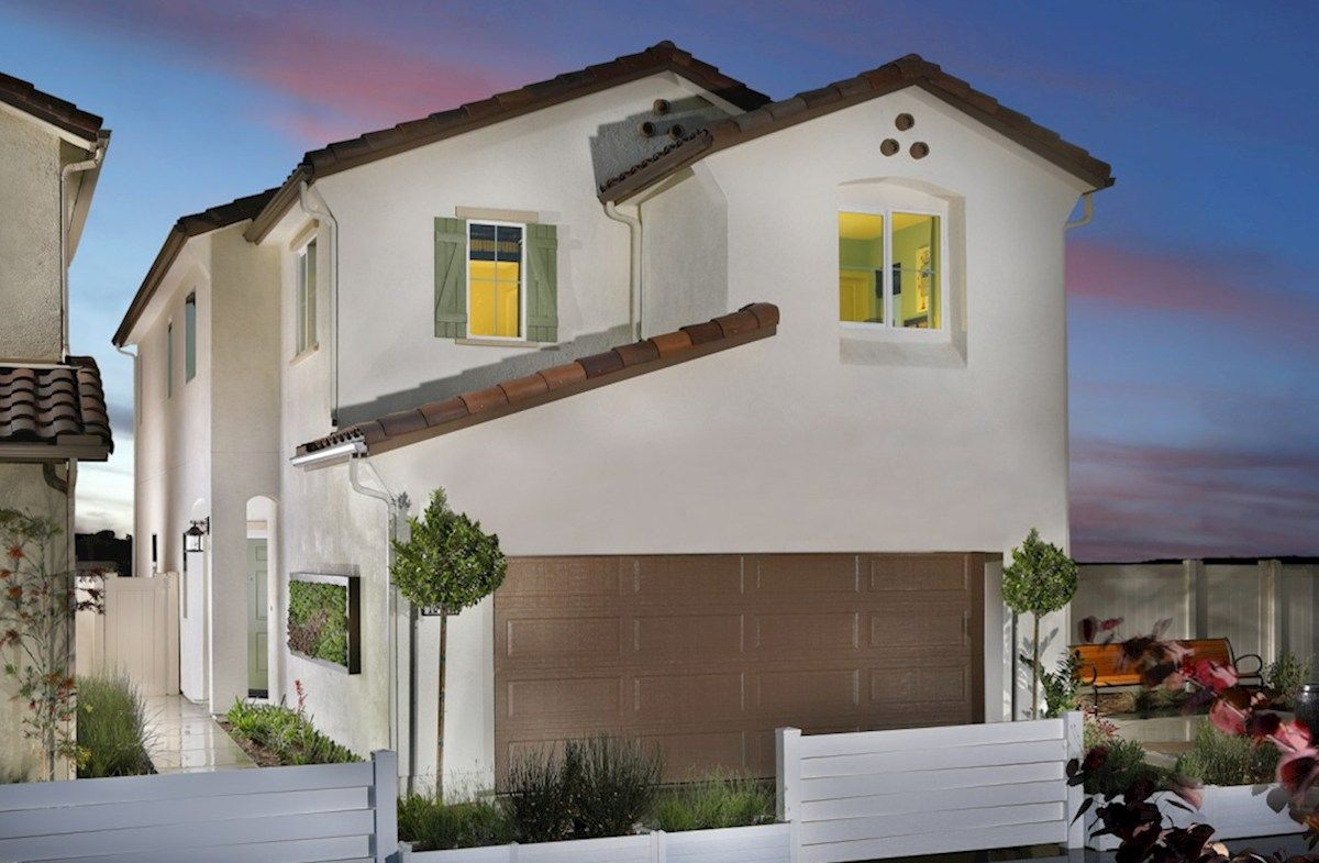 Exterior:Spanish Colonial A Elevation