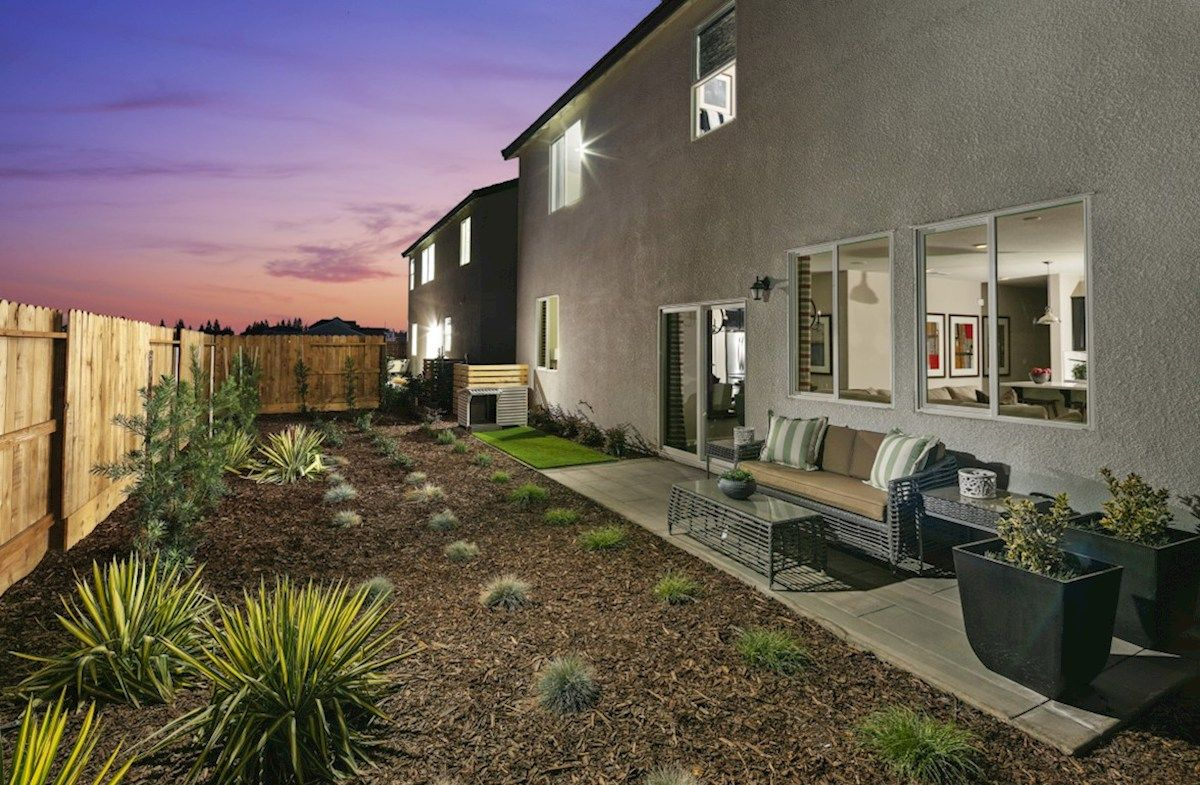 Interior:Residence 2 Backyard