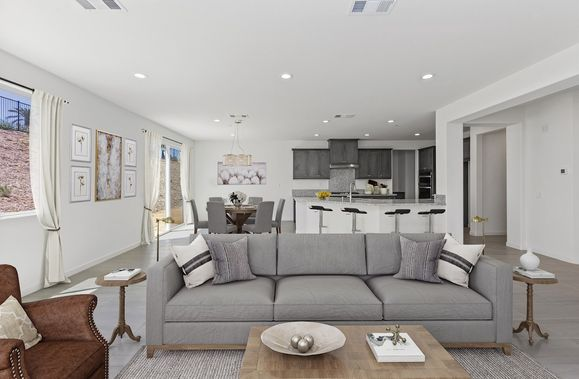 Rose Homesite 27: Great Room and Kitchen