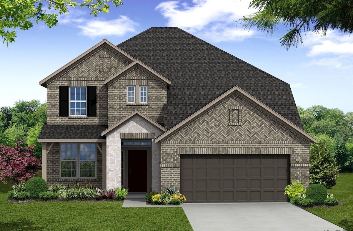 Exterior:Traditional T Elevation