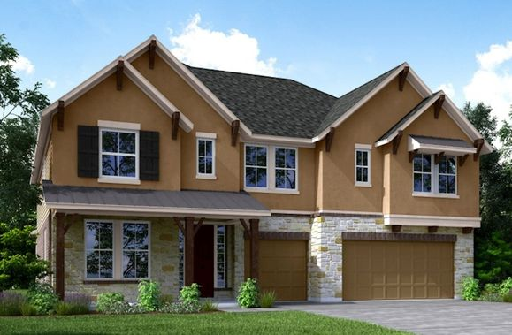 Exterior:Hill Country L Elevation