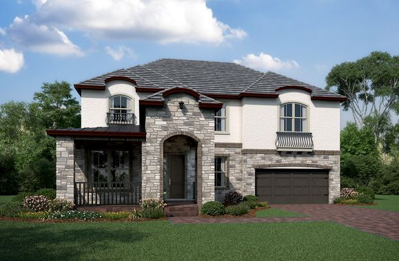 Exterior:French Country N Elevation