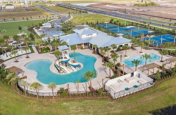 Enjoy a variety of resort style amenities