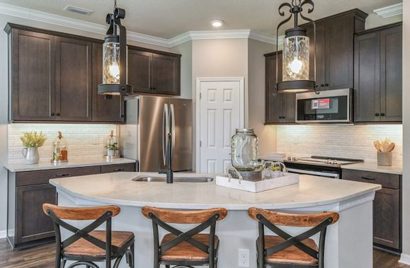 Interior:Siesta Key Kitchen with Center Island
