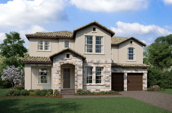 Exterior:Tuscan M Elevation