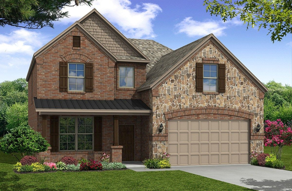 Exterior:French Country O Elevation