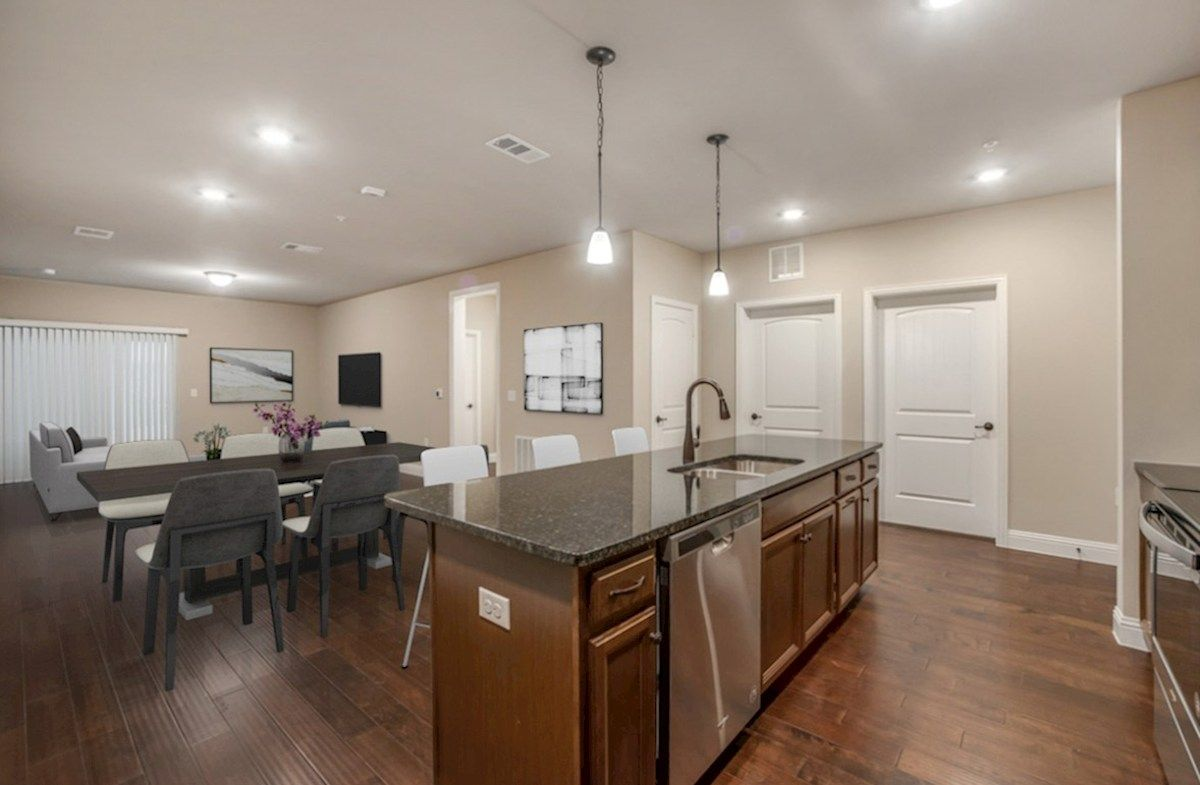 Interior:Dorset Kitchen and Family Room