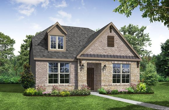 Exterior:French Country A Elevation