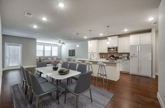 Interior:Sherwood Living Area and Kitchen