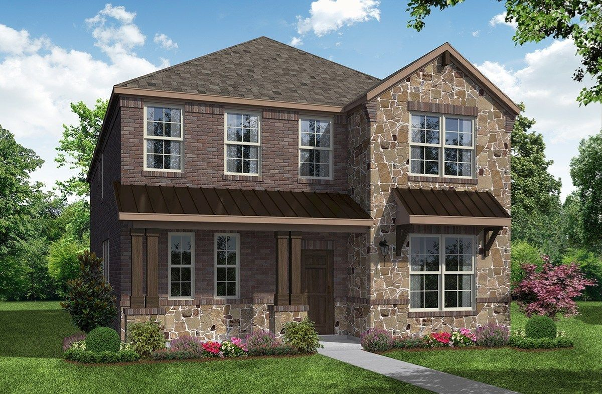 Exterior:Hill Country A Elevation