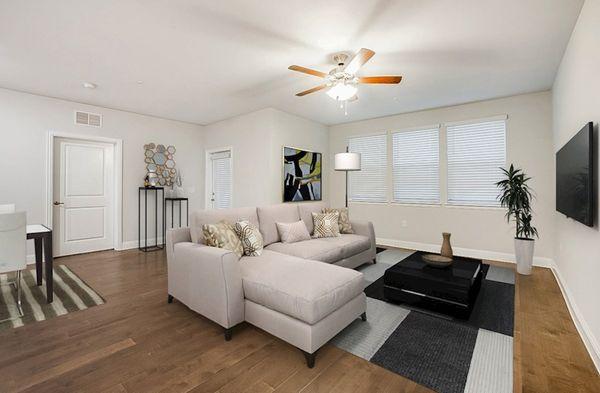 Interior:Sherwood Living Area