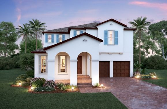 Exterior:Spanish Colonial N Elevation