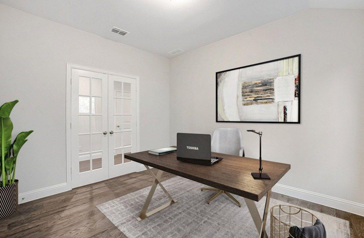 Interior:Magnolia Private Study