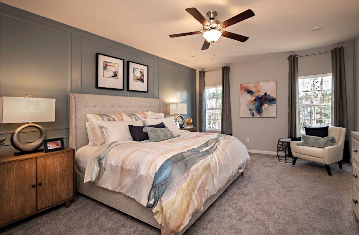 Interior:Waverly II Primary Bedroom