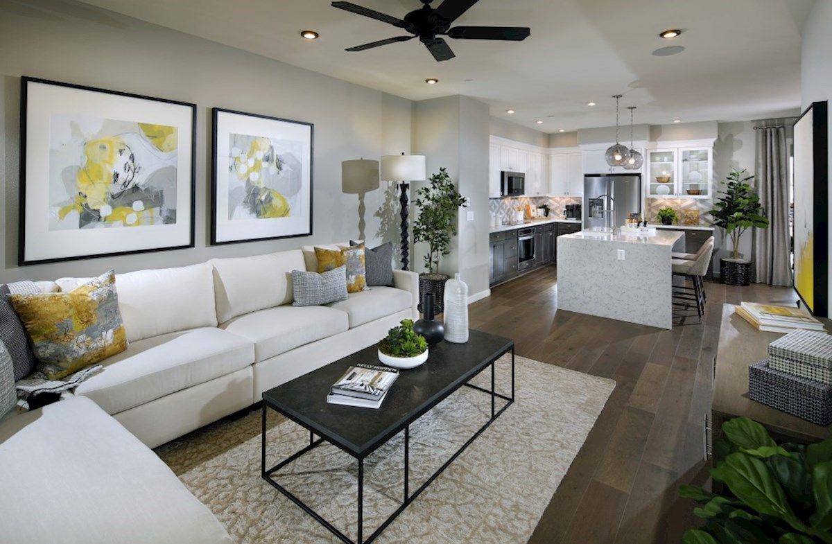 Interior:Plan 3 Living Room