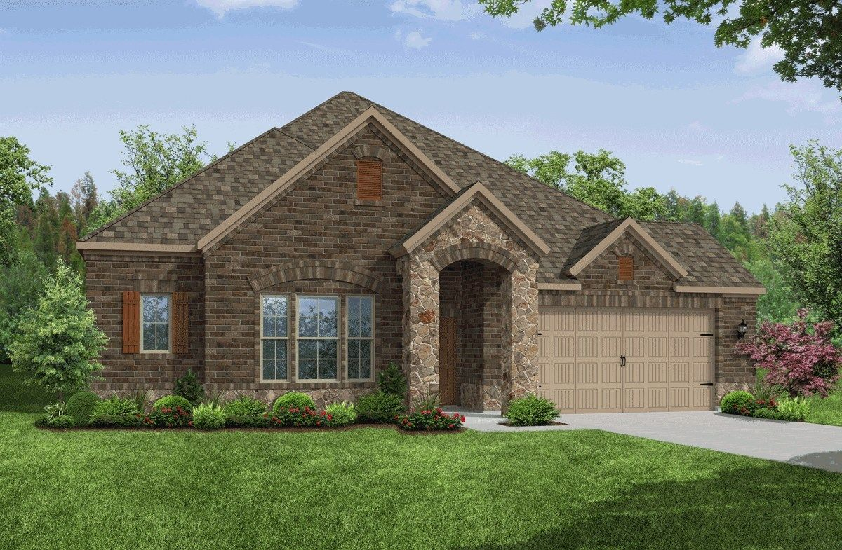 Exterior:French Country V Elevation