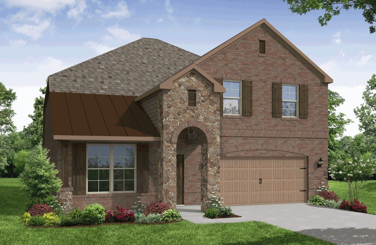 Exterior:Traditional D Elevation