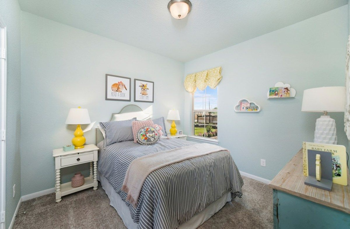 Interior:McCullough Secondary Bedroom