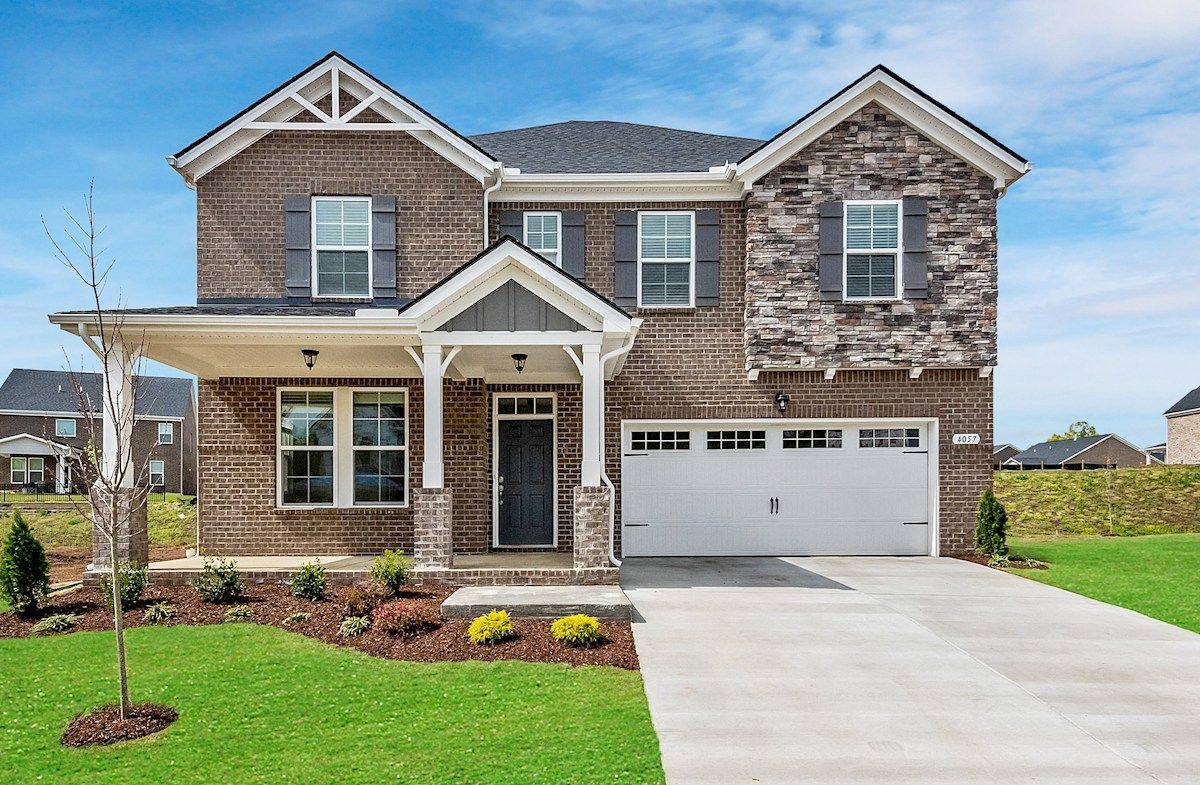 Landon French Country L Exterior