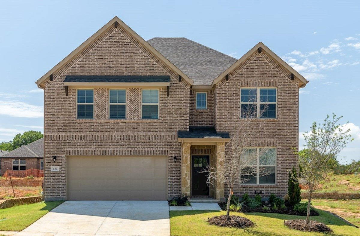Exterior:Hill Country B Elevation