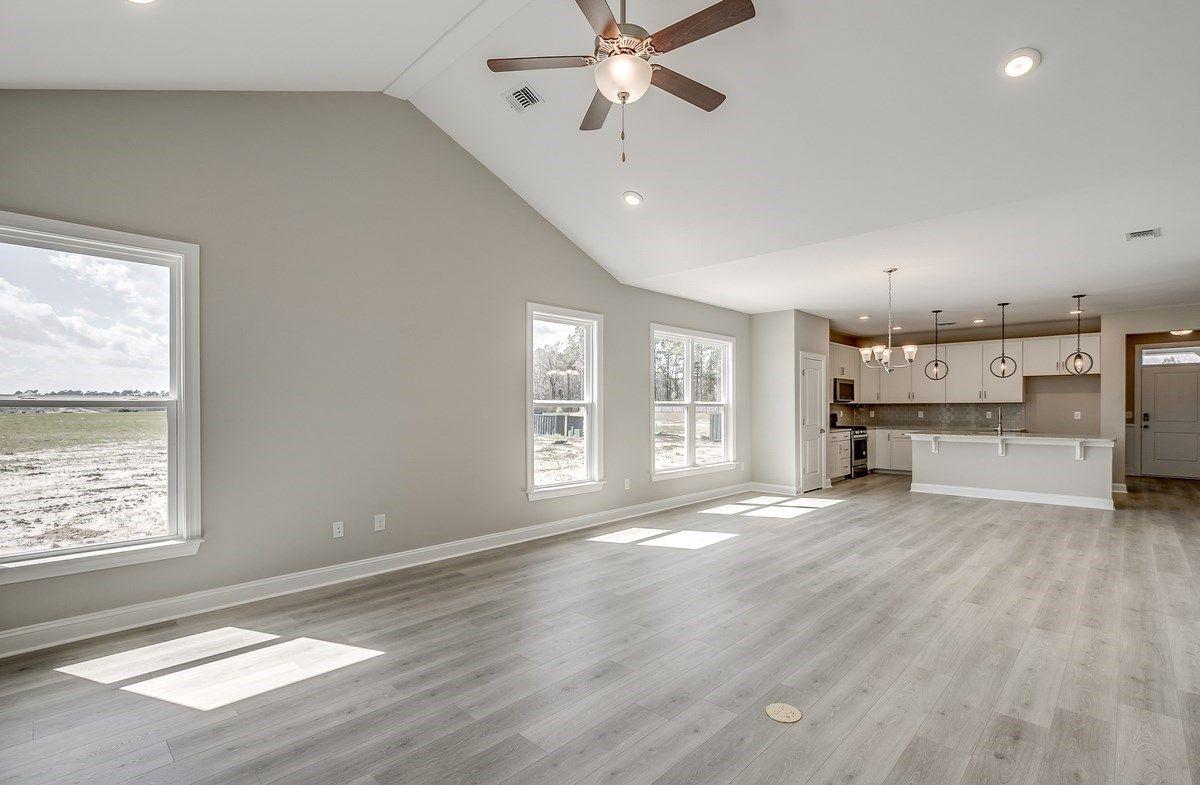 Interior:Hickory Open Floorplan