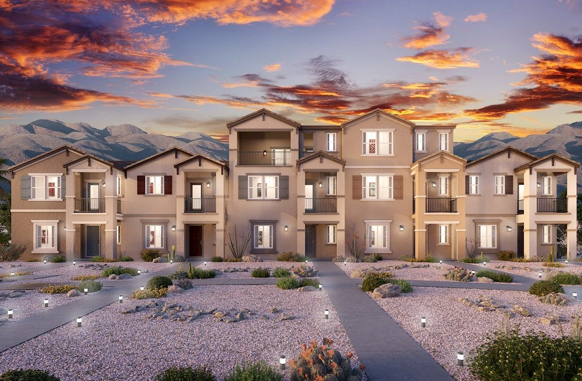 Juniper Trails new townhomes, April 2021