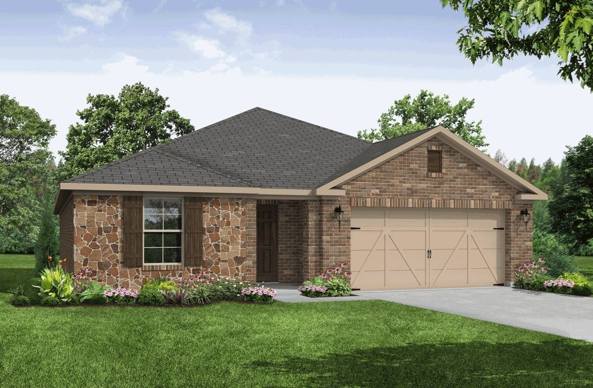 Exterior:French Country B Elevation