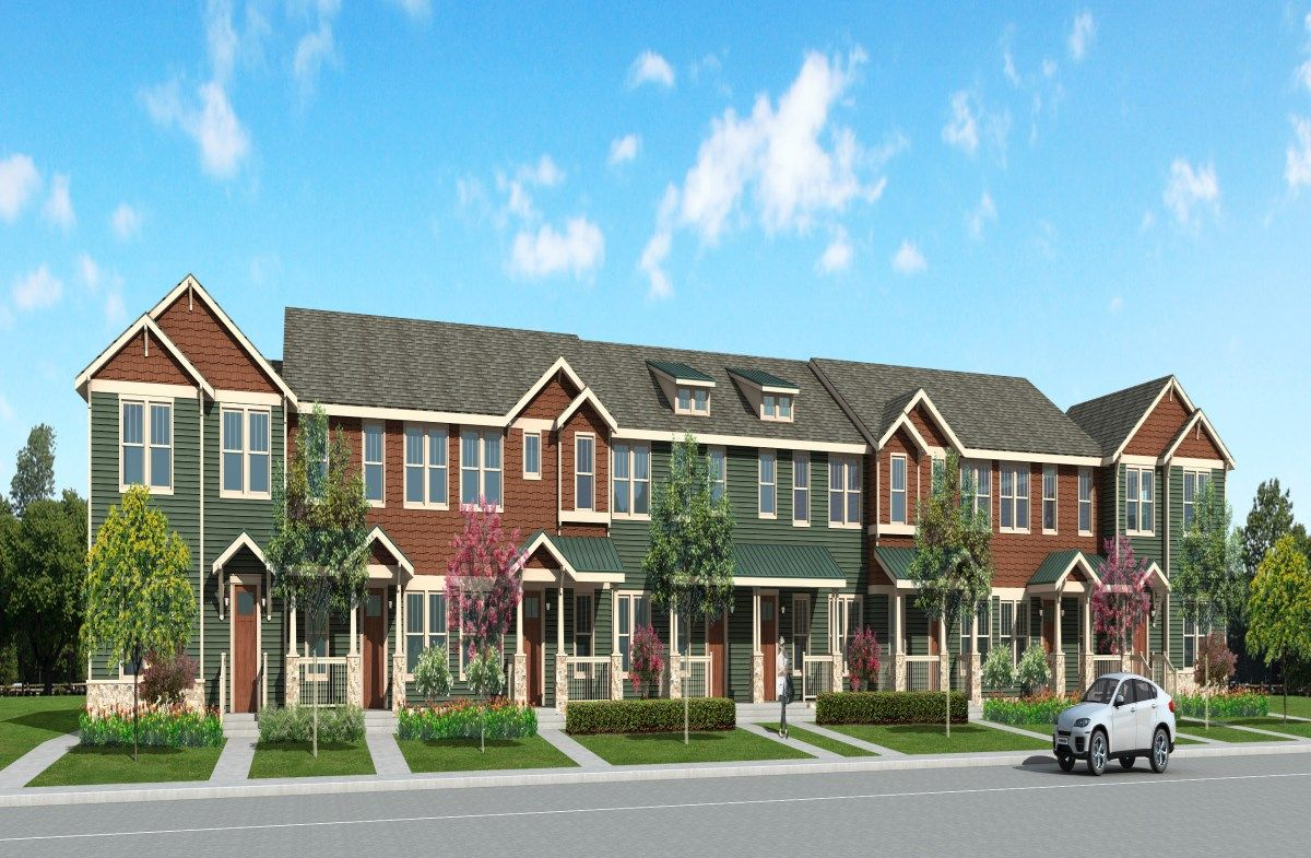 HomeTown Exterior Townhome Building