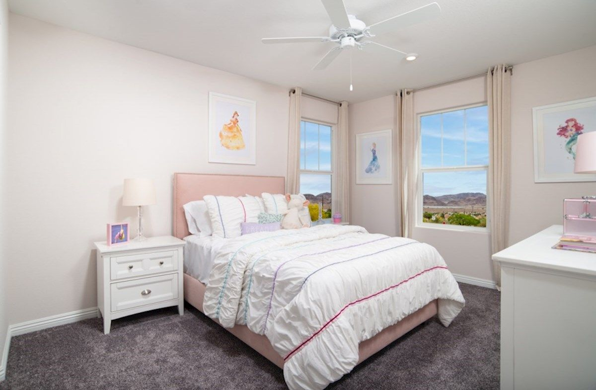 Interior:Albany Secondary Bedroom