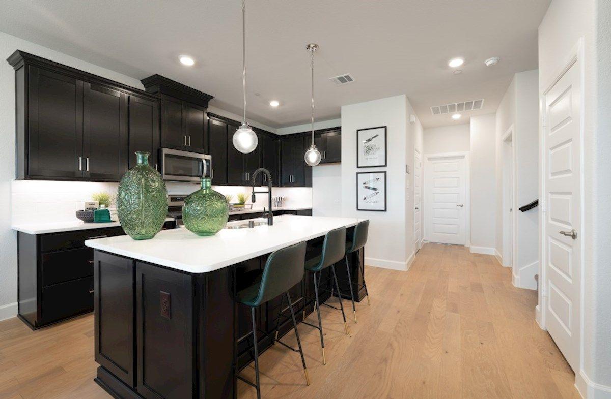 Interior:Caspian Model Home Kitchen