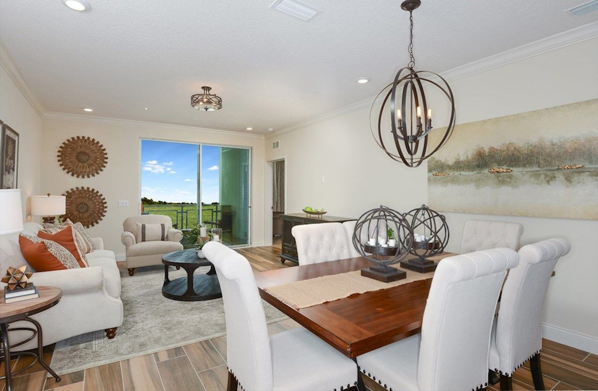 Interior:Aspen Model Home Great Room