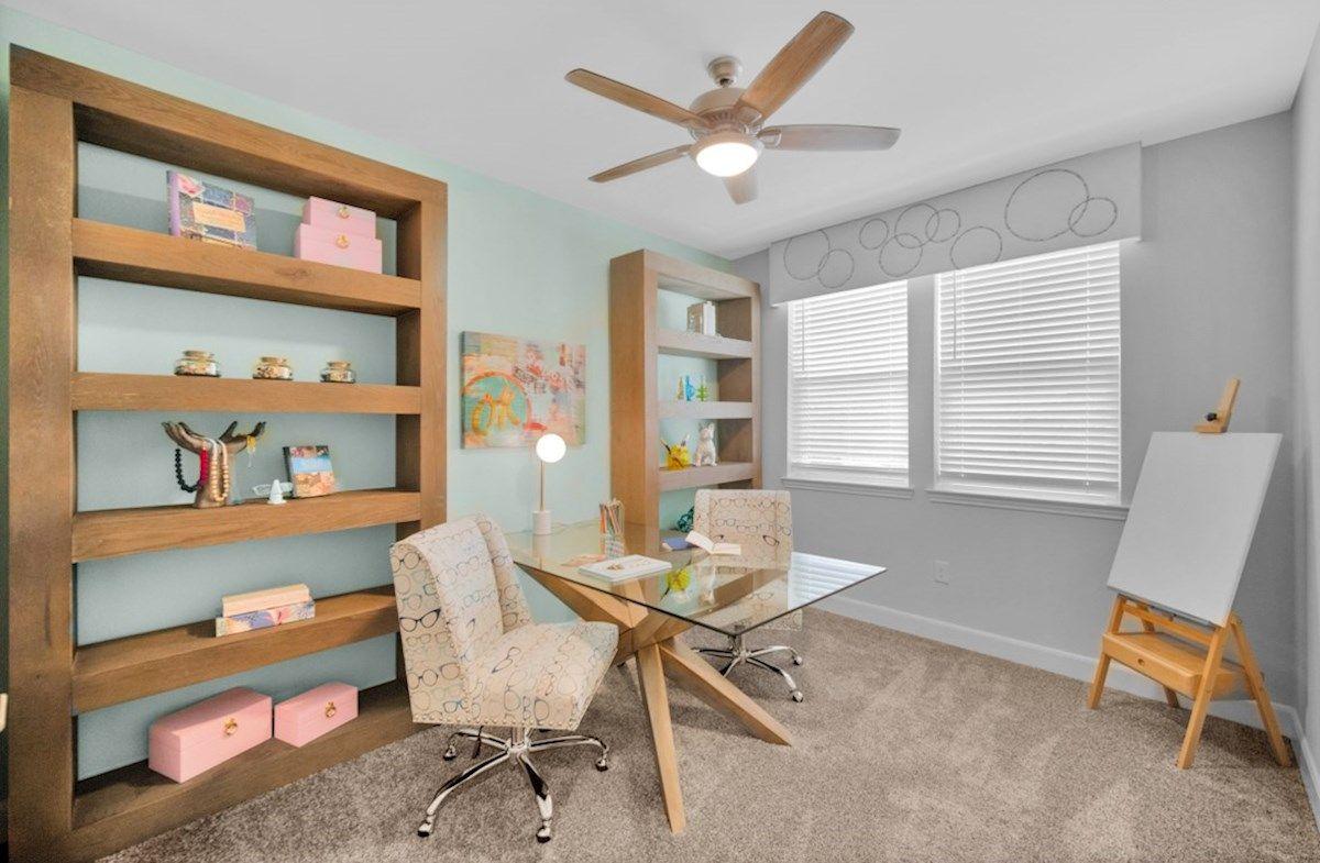Interior:Sherwood Study