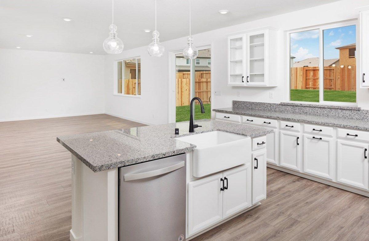 Interior:Plan 2 Kitchen