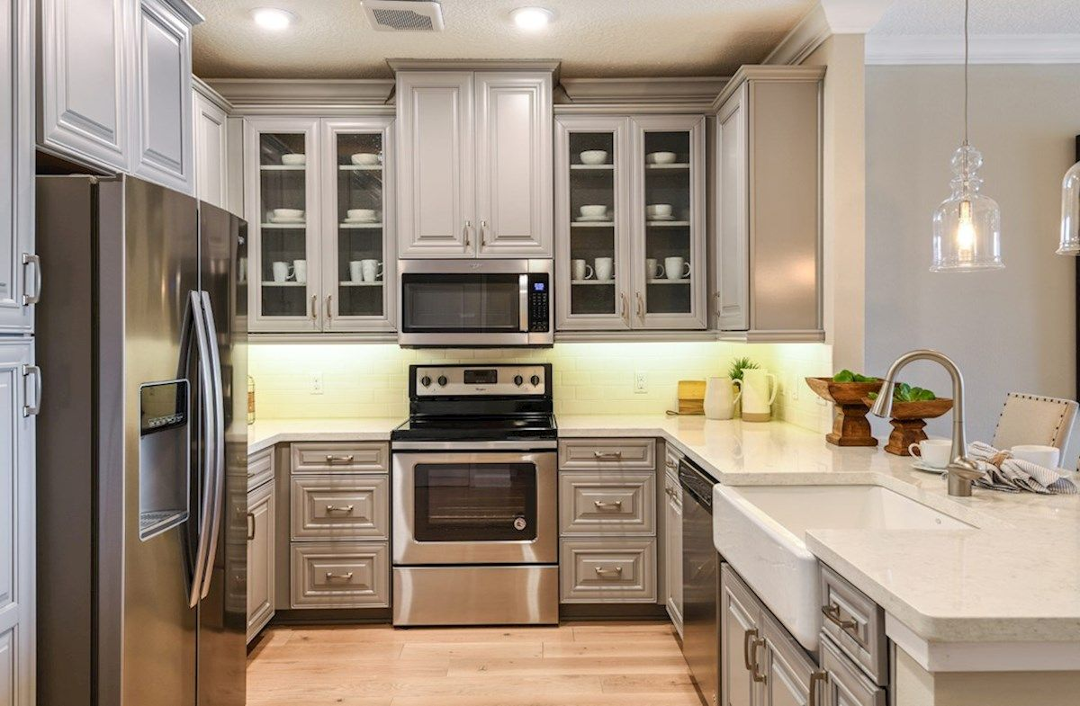 Interior:Bradford Model Home Kitchen