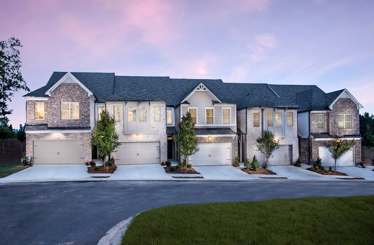Townhome Front Exteriors