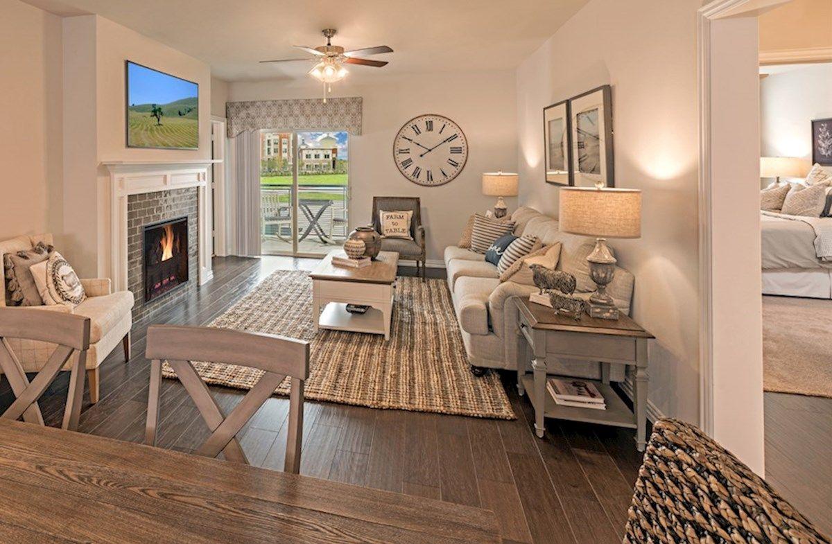 Interior:Dorset Model Living Room