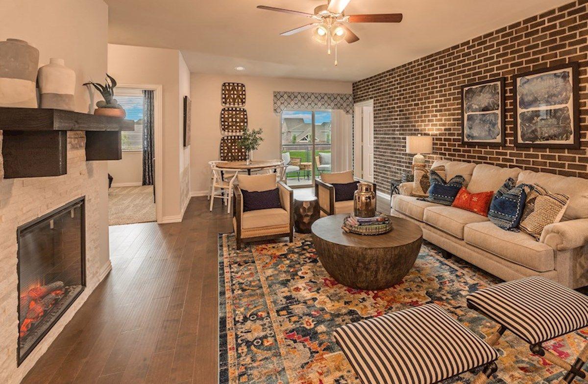 Interior:Clifton Model Living Area