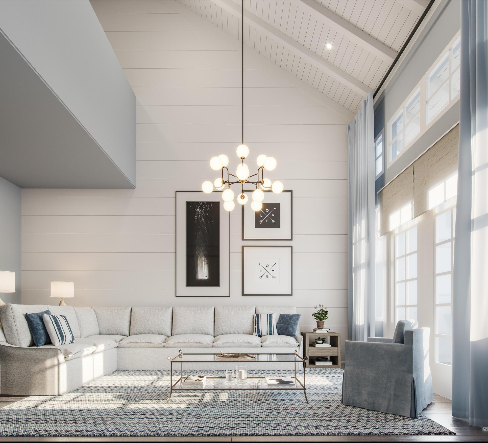 Living Room:Artist Rendering
